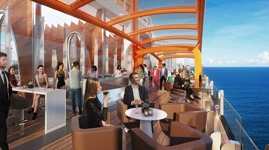 Celebrity Edge Magic Carpet render