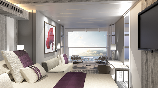 Celebrity Edge Infinite Balcony