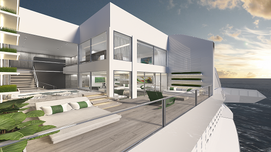 Celebrity Edge Villa render