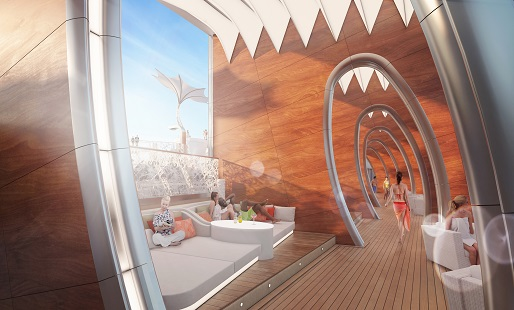 Celebrity Edge Pool Deck Cabanas