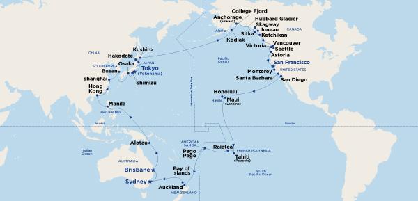 Circle Pacific Map