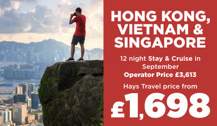 Hong Kong, Vietnam & Singapore Cruise