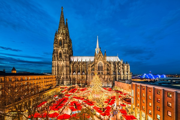 Christmas Market along the Rhine Valley