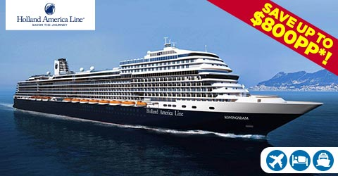 EXPERIENCE THE MUSICALLY-INSPIRED BRILLIANCE ONBOARD KONINGSDAM!