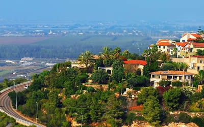 View from Zichron Yaakov