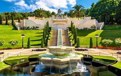 Beautiful Gardens of Haifa