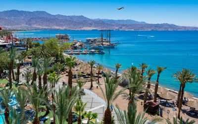 Arrival into Eilat