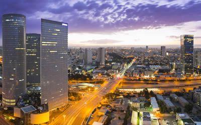 Arrival into Tel Aviv