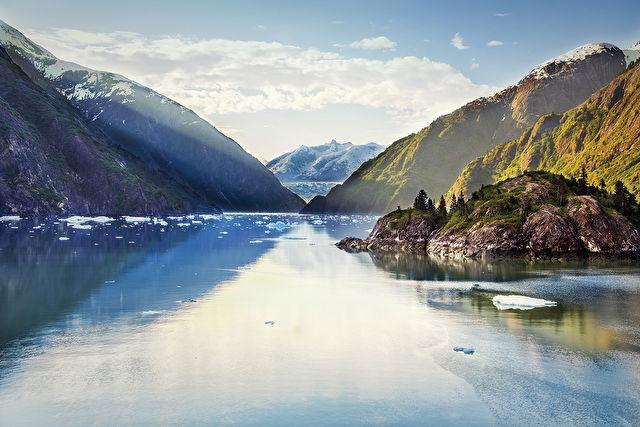 Japan and Alaska