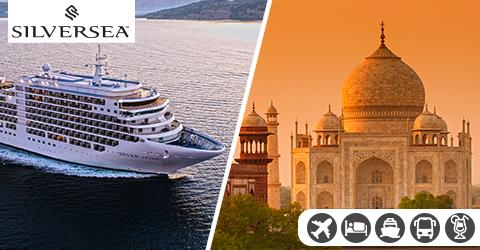LUXURIOUS DUBAI TO MUMBAI CRUISE WITH GOLDEN TRIANGLE TOUR