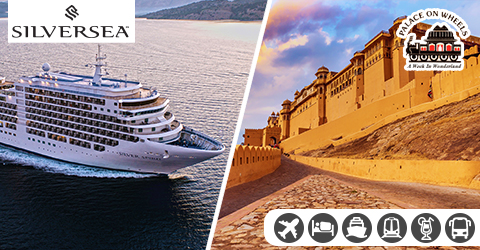 LUXURIOUS DUBAI TO MUMBAI CRUISE WITH PALACE ON WHEELS TOUR