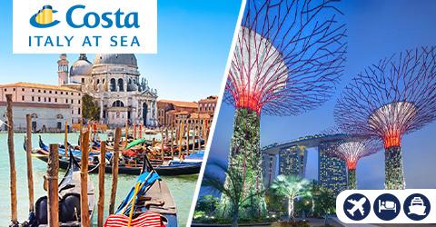 VENICE TO SINGAPORE