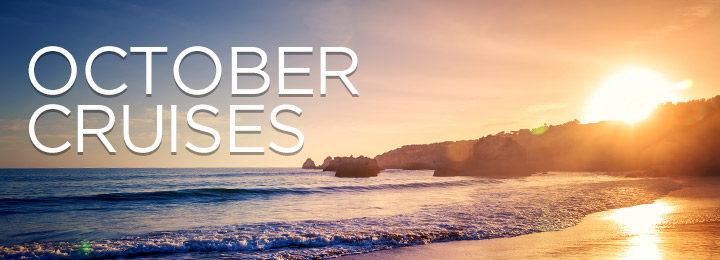 Fantastic Deals Cruising in October