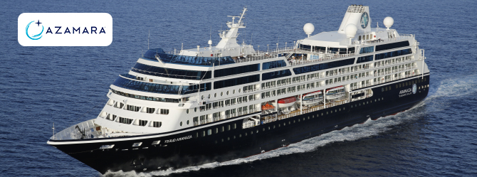 Azamara Cruise Ships - Cruise1st Australia