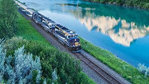 Nat Geo Canadian Rockies by Rail and Trail