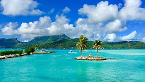 Nat Geo Islands and Oceans of the World by Private Jet
