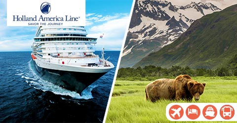LUXURY ROCKIES TOUR WITH ALASKA CRUISE