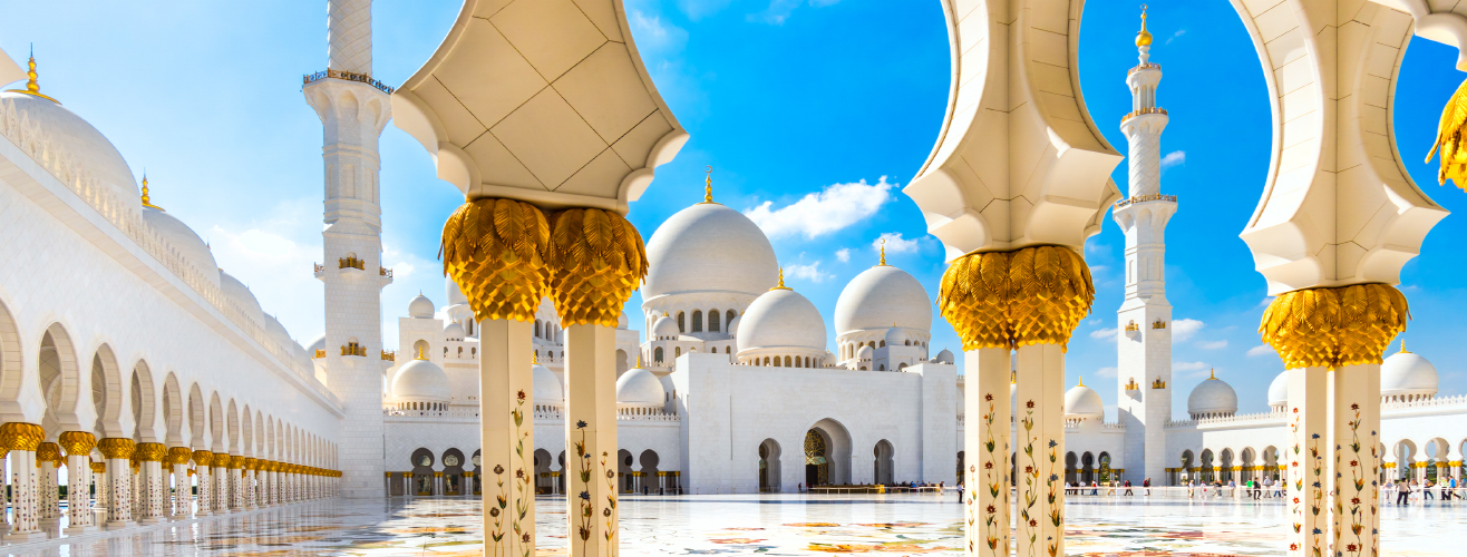 Abu Dhabi in United Arab Emirates Middle East