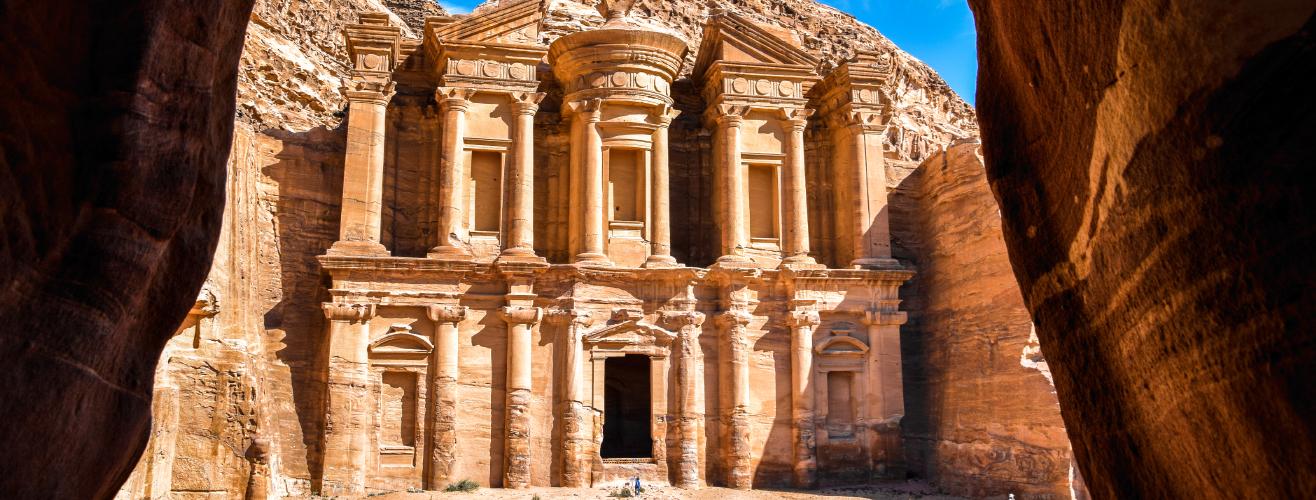 Petra in Jordan Middle East