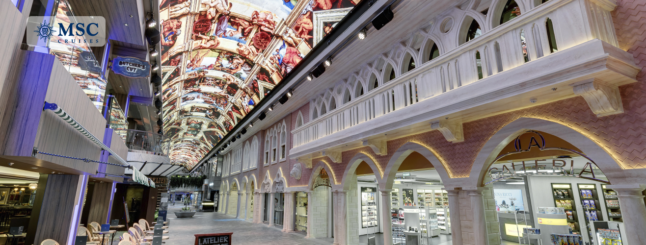 Galleria Grandiosa in MSC Grandiosa