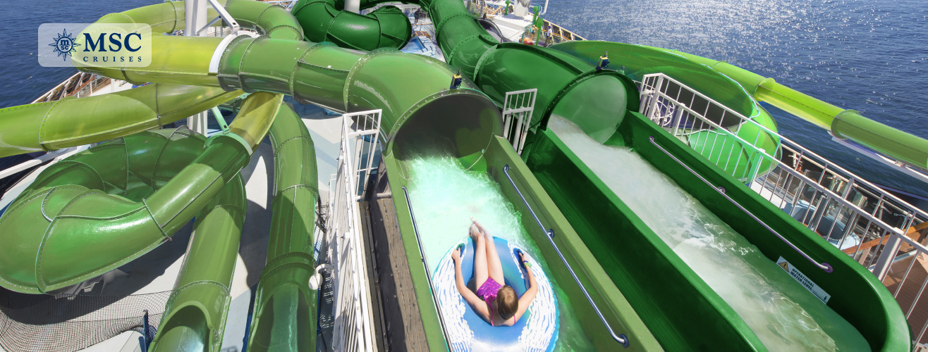 Polar Aquapark on MSC Grandiosa