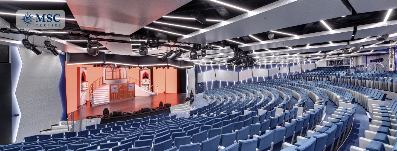 theatre in MSC Grandiosa