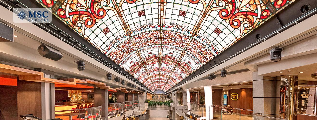 Galleria Meraviglia on MSC Meraviglia