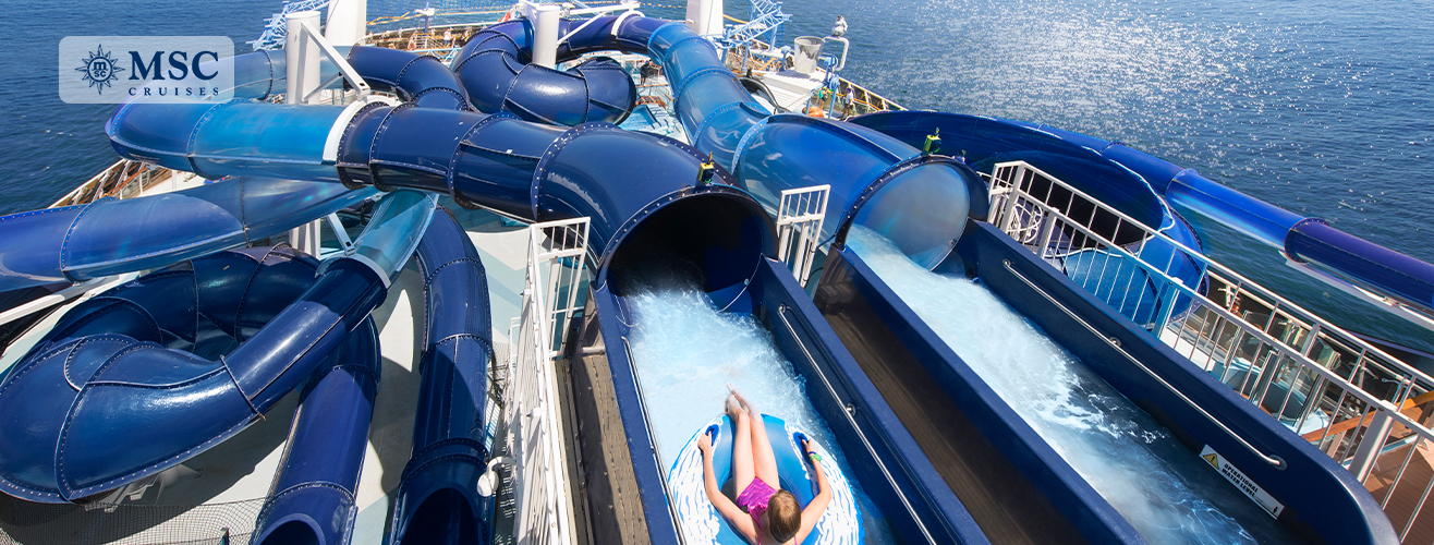 Polar Aquapark on MSC Meraviglia