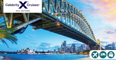 CRUISE AROUND AUSTRALIA AND INTO NEW ZEALAND!