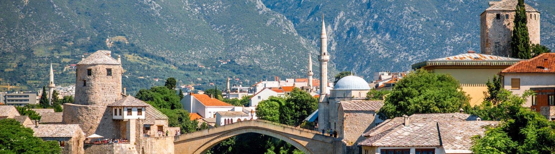 Mostar City, Bosnia & Herzegovina