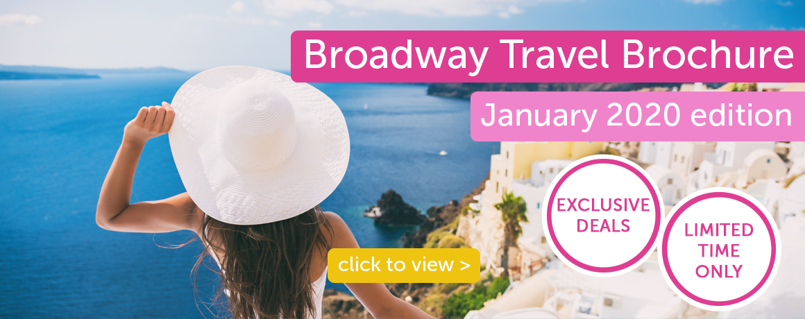 Broadway Travel Brochure