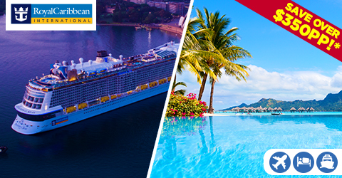 SAY ALOHA TO THIS 17-NIGHT CRUISE/STAY/FLY PACKAGE!
