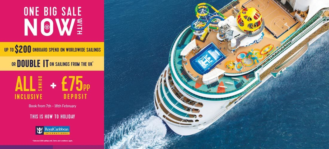 Royal Caribbean 2019 Cruise Deals