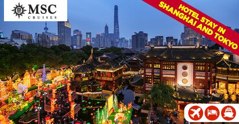 SHANGHAI AND JAPAN
