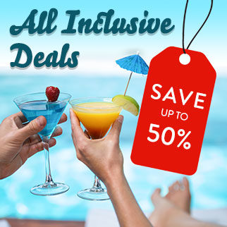 All inclusive deals- save up to 50%!