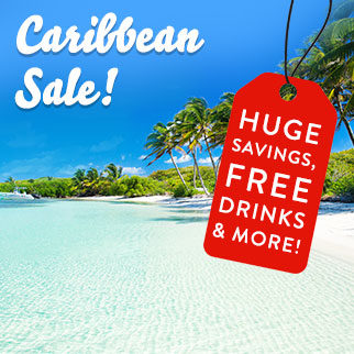 Our red hot sale continues! Get huge savings, free drinks*, and more at Caribbean destinations!