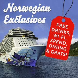Check out our range of exclusive Norwegian Cruise Line Deals - Make huge savings!