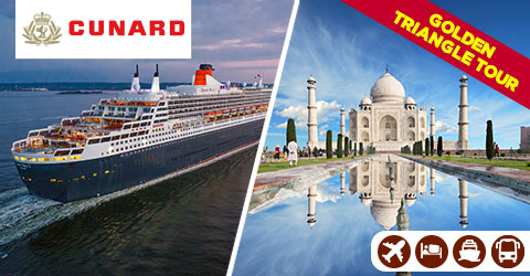 LUXURY CRUISE & GOLDEN TRIANGLE TOUR