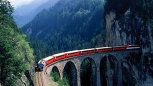 Nat Geo Swiss Trains and the Italian Lake District