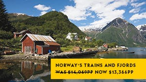 Nat Geo Norway's Trains and Fjords