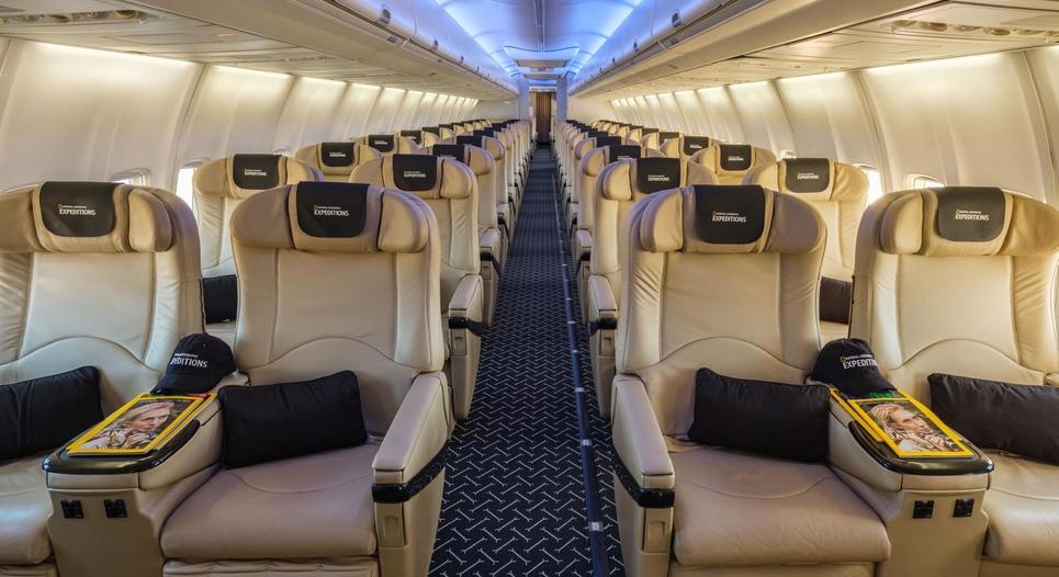 Nat Geo Private Jet
