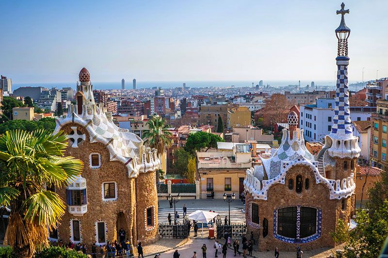 O Parque Güell Gaudi