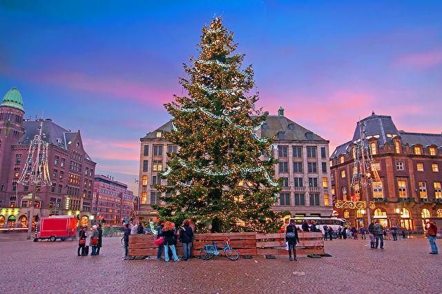 Christmas Sights of Amsterdam
