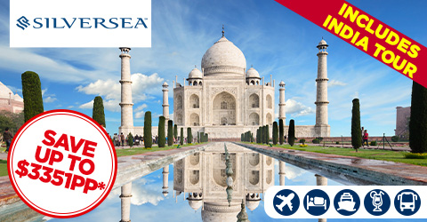 INDIA'S HERITAGE GOLDEN TRIANGLE CRUISE AND TOUR
