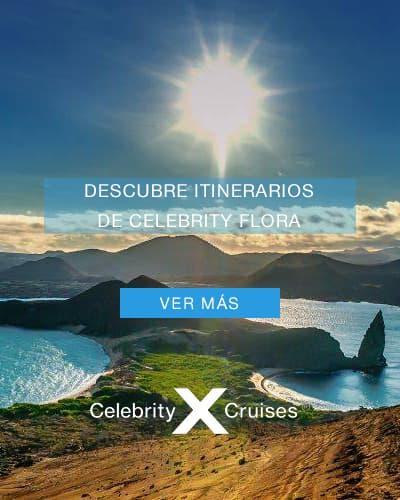 Crucero Celebrity Flora