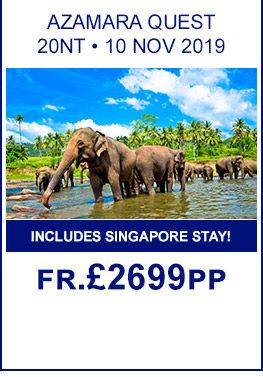 Azamara Cruises 2019/2020 - Cruise Holidays | Cruise1st