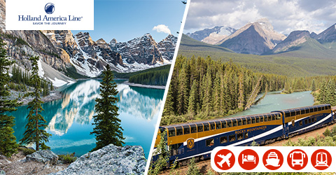 ROCKY MOUNTAINEER AND ALASKA