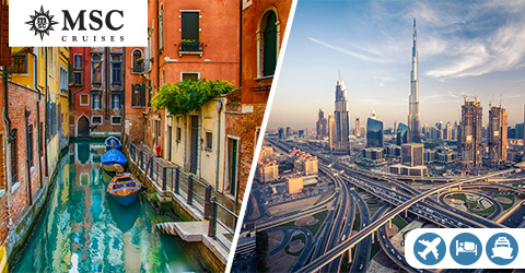 VENICE TO DUBAI