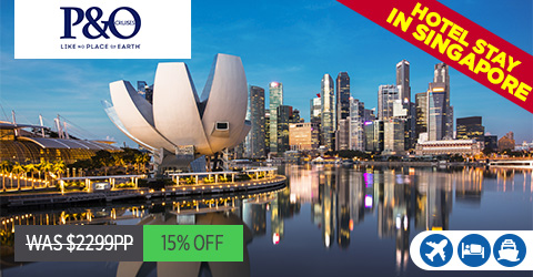 INAUGURAL SAILING FROM SINGAPORE TO SYDNEY