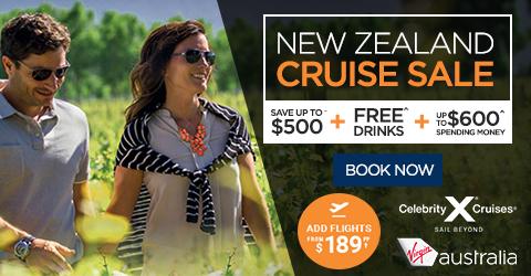 NEW ZEALAND CRUISE SALE